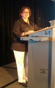 Dr Reid at the FIP World Congress of Podiatry